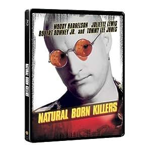 Natural Born Killers Blu-Ray Exclusive Steelbook (UK-Import mit deutscher Tonspur)