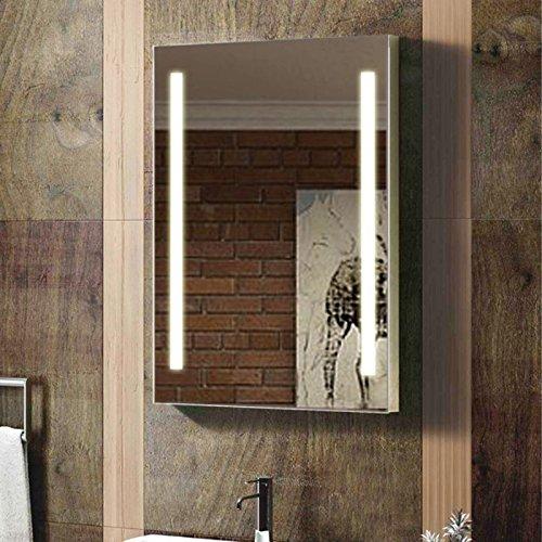 Espejo de pared para baño retroiluminado