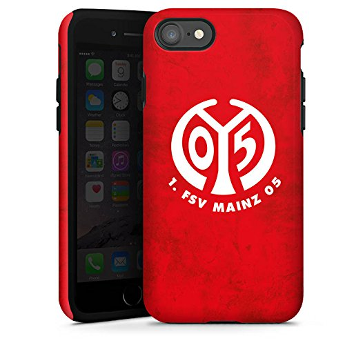 Apple iPhone 6 Hülle Premium Case Cover 1. FSV Mainz 05 e.V. Fußball Bundesliga Fanartikel Tough Case glänzend