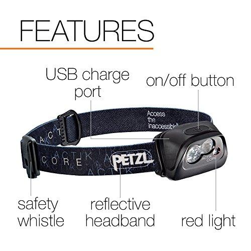 Petzl Actik Core Stirnlampe - 4
