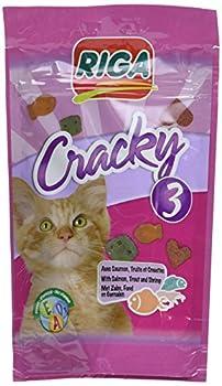 Riga Cracky 3 Poissons Friandise pour Chat - Lot de 7