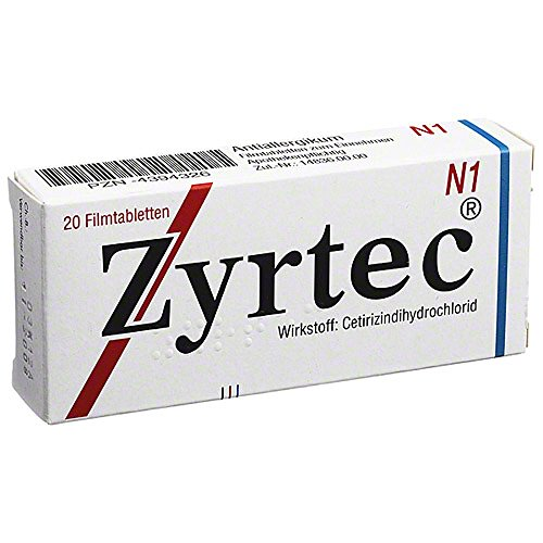 Zyrtec Tabletten, 20 St.