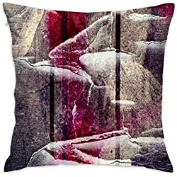 False warm warm Confused Lines Hover Home Decoration Pillow Sofa Cushion 18 x 18 inch