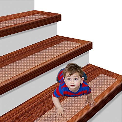 Antideslizantes Tracci/ón Escaleras de Seguridad Escalera Antideslizante Cinta Adhesiva para Escalera ONTWIE 15 * 60cm Transparente Pisadas de Escaleras Antideslizantes de Seguridad