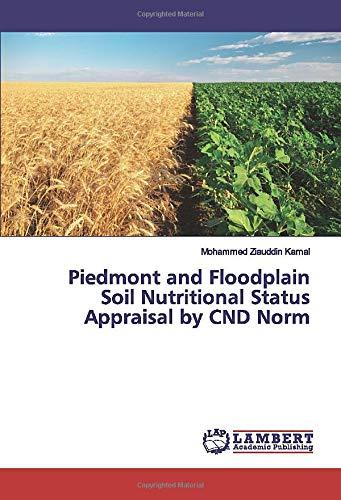 Piedmont and Floodplain Soil Nutritional Status Appraisal by CND Norm Plain Cake Box