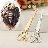 Accessoires de cuisine à domicile 6 pcs pince à cheveux ciseaux mignon forme pince à cheveux cheveux accessoires bandeau pour femmes dame filles