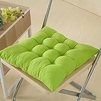 WJiXin - Cojín para silla de comedor o al aire libre, para decoración de muebles de jardín (verde)