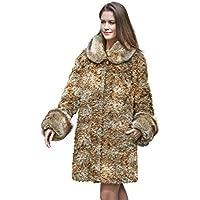 Adelaqueen Spesso Cappotto Invernale da Donna Finta