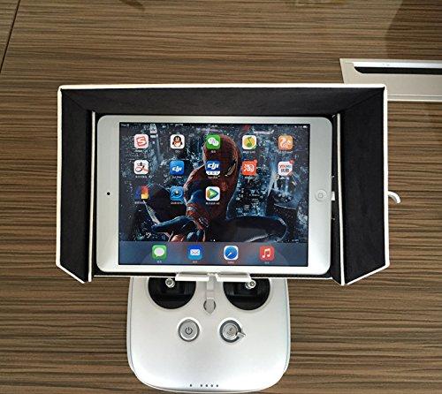 Anbee® DJI Inspire 1 Phantom 3 FPV Monitor Sonnenschirm Sonnenverdeck für Tablette MID iPad Mini 2 3 (7.9/8