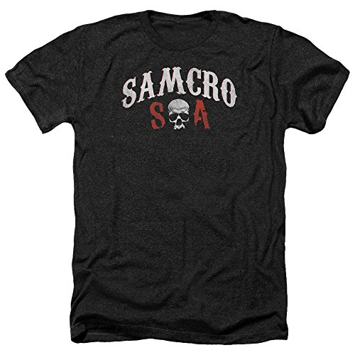 Sons of Anarchy Herren T-Shirt Schwarz