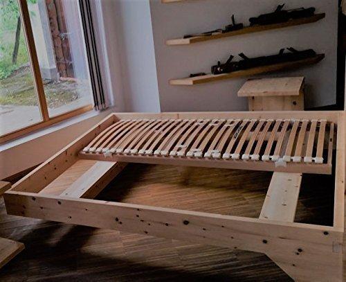 Holzbett Modell Living Zirbe Basis Aus Zirbenholz