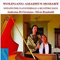 Mozart: Harpsichord Sonatas for 4 Hands KV 19d & K 381 & K 358