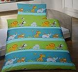 Edel-Linon Bettwäsche Tiere für Kinder
