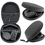 JHGJ Portable Headphone Case Bag Pouch Cover Box For Sony MDR-ZX100 ZX110 ZX300 ZX310 ZX600 Headphones