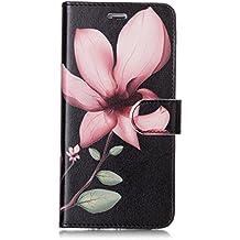 Coque iPhone 6 / iPhone 6S, Lomogo Housse en Cuir Portefeuille avec Porte Carte Fermeture par Rabat Aimanté Anti Choc Etui de Protection pour Apple iPhone6S / iPhone6 (4,7 Pouces) - LOYHU20684 #4