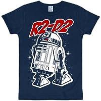 La Guerra de las Galaxias - Camiseta R2-D2 azul marino para niños - 158/164