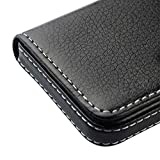 Best Card Holders - AlexVyan Pocket Sized Stitched Leather Case Card Holder Review