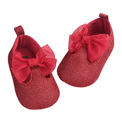 Bebê Jane T Sapo Fogo Sapatos strap Walker Menina Vermelhos Mary FwwBg1WPq