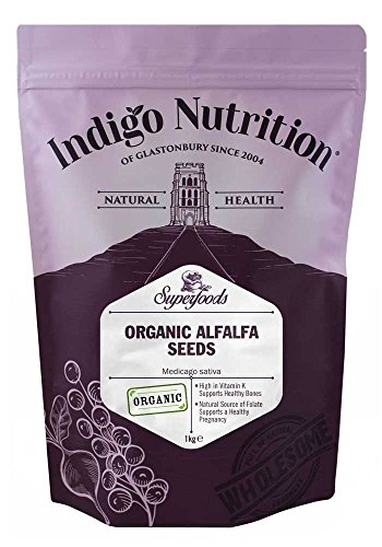 Indigo Herbs Bio Alfalfa Samen 1kg