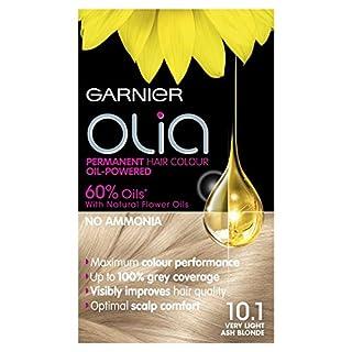 Garnier Olia Permanent Hair Dye, 10.1 Very Light Ash Blonde