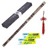 Kalaok Pluggable Bitter flauto di bambù Dizi tradizionale cinese Handmade musicale a fiato strumento Tasto di G studio di livello professionale delle prestazioni