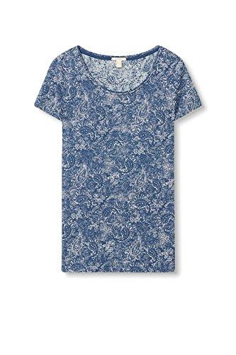 ESPRIT Damen T-Shirt 027ee1k012 Mehrfarbig (Ink 415)
