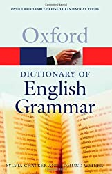 The Oxford Dictionary of English Grammar (Oxford Paperback Reference) (1998-09-24)