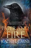 Front cover for the book Paper And Fire by Rachel Caine