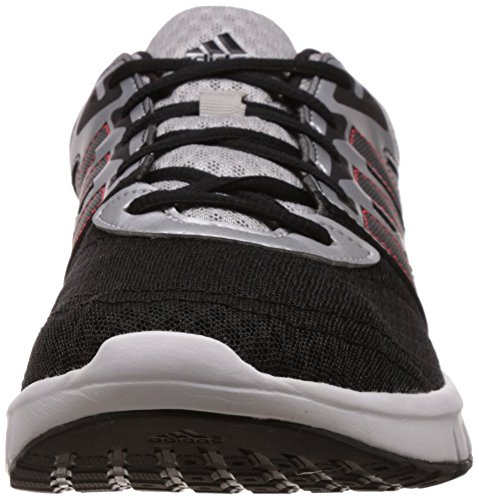adidas  Galaxy 2, Chaussures de running homme Multicolore (Plata / Negro / Rojo)