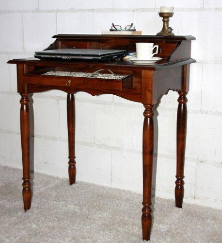 Massivholz Italienischer Sekretär Schreibtisch - Holz Massiv kolonial