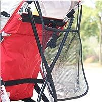 Bebé Cochecito Silla de paseo colgar bolsa de red de malla 30x 30cm), color negro