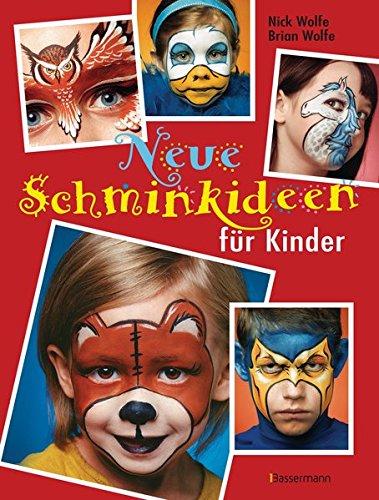 Neue Schminkideen für Kinder (Erklärung Halloween 3 Von)