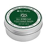 ReeBaby All Purpose Coconut Balm - for Diaper Rash, Cuts, Dry Skin
