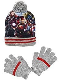 Avengers - Set de bufanda, gorro y guantes - para niño