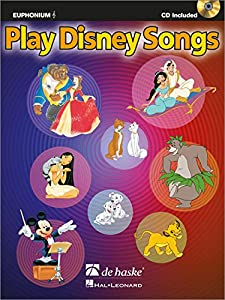 Play disney songs euphonium+CD
