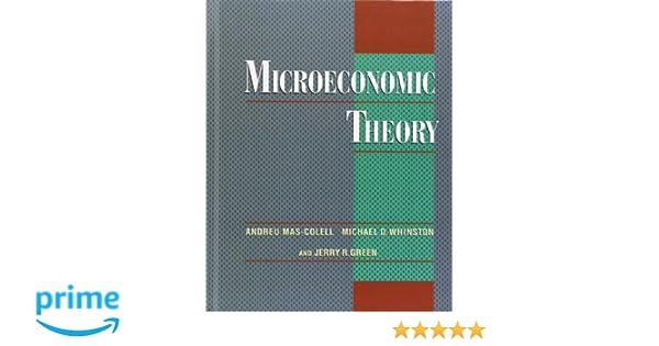 Microeconomic theory amazon andreu mas colell libri in altre microeconomic theory amazon andreu mas colell libri in altre lingue fandeluxe Choice Image