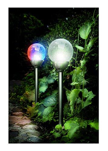 Cole & Bright 6765 Eiskugeln, mit Farbwechsel, klassisches Glas -