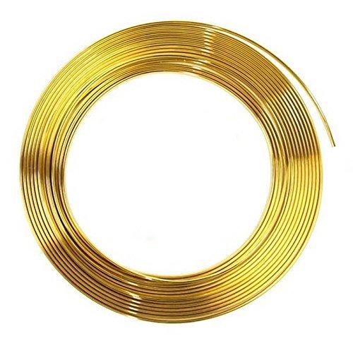 Türkantenschutz 2m in Gold für Auto - U-Profil HOCHFLEXIBEL - ZUSCHNEIDBAR - SELBSTKLEBEND - Witterungsbeständig Pkw Kfz