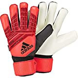 adidas Herren Predator Top Training Fingersave Torwarthandschuhe Active Black/Solar Red, 9.5