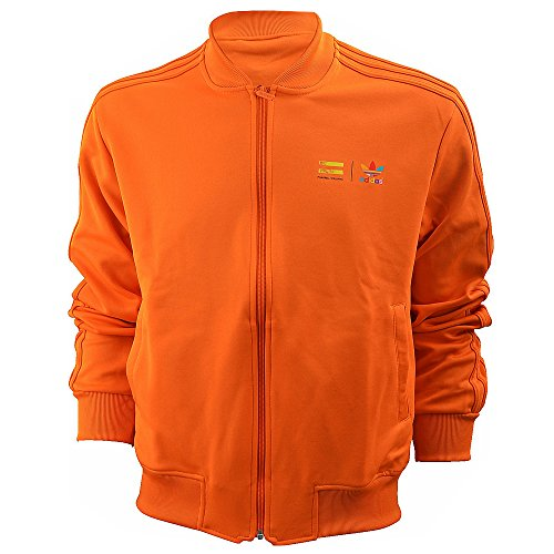 Adidas Originals X Pharell Williams Track Jacket, ORANGE, XXS