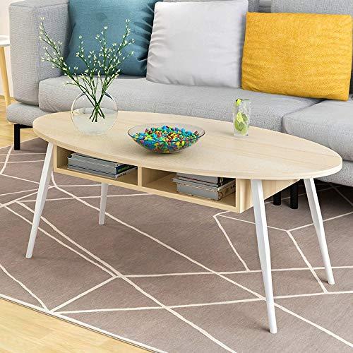 Schlafzimmer Runden Beistelltisch (ANDIAOG-Home Couchtisch einfache Mini Seite EIN Paar Schlafzimmer kleinen runden Tisch Sofa Beistelltisch kreative Nachttisch -100 * 50 * 43,5 cm (Color : A))