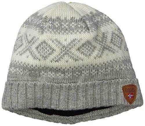 Dale of Norway - Cappello da adulto Cortina 1956, colore antracite chiaro/bianco sporco, taglia unica, 42261-E-01