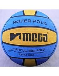 Mega agua bola de polo, tamaño 3, Blue-Yellow Mini bola de polo