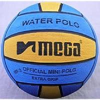 MEGA - Pelota de Polo de Agua, tamaño 3, Color Azul y Amarillo