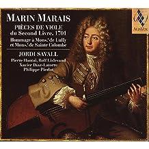 Marais: Piezas De Viola Del Segundo Libro;  Jordi Savall