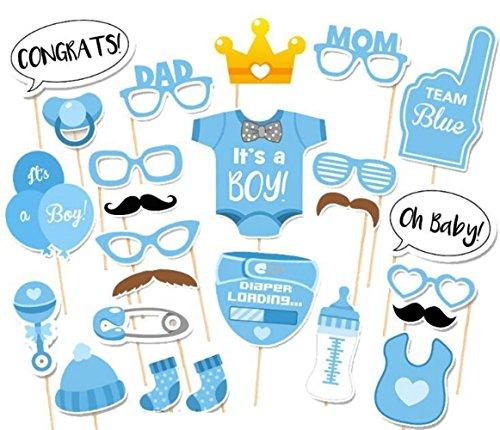 (25PCS Funny Foto Party Booth DIY Kit für Hochzeit, Geburtstag, evetns & Funktionen von Schnitt Shop)