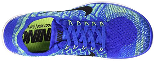 Nike Free Flyknit 4.0, Chaussures de running homme Game Royal/Blk-Pht Bl-Hypr Jd