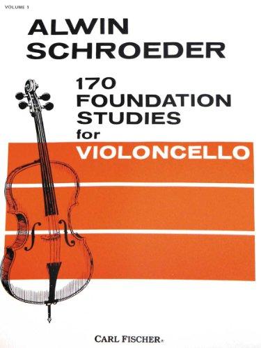 170 Foundation Studies for Violoncello, Vol. 1 (English Edition)