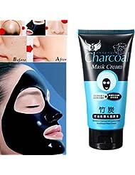LuckyFine Mascara Crema Limpieza Profunda Lucha contra el Acne Puntos negros Control de Aceite Peel-Off 130g