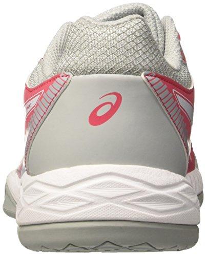 Gel Grey Asics Rot Damen 1901 white Red Volleyballschuhe Rouge Task mid q5F7A5